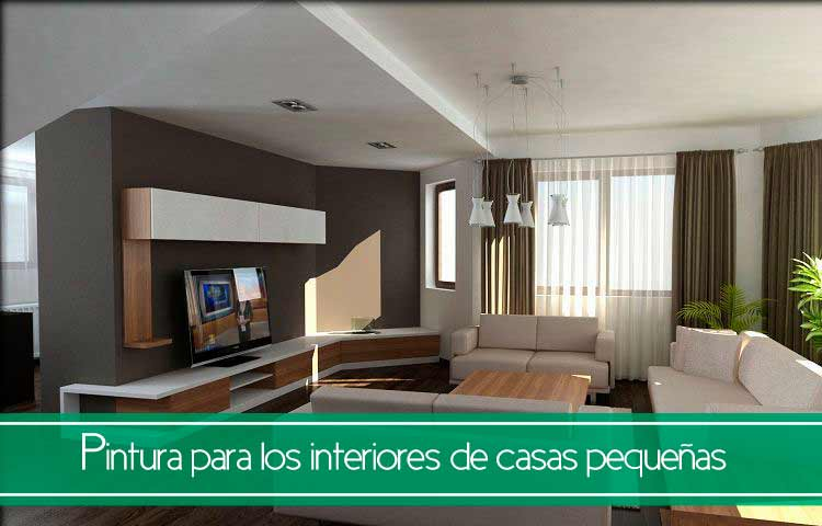 Tips de pintura para interiores de casas peque as trucos for Pinturas para casas modernas interiores